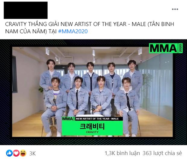 Netizen mãn nguyện vì BTS ẵm trọn Daesang tại MMA 2020, giải Tân binh lại gây phẫn nộ khi em trai BLACKPINK trắng tay dù thành tích khủng - Ảnh 7.