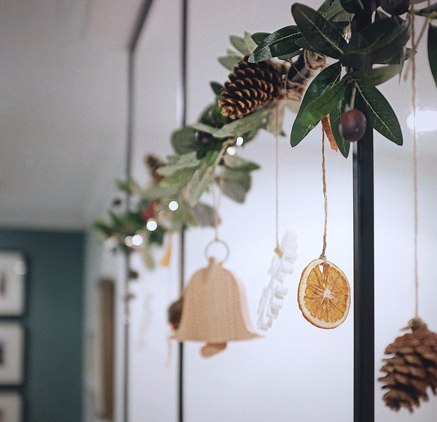 Căn hộ Vinhomes của nhà thiết kế nội thất: Tông màu xanh là lạ nhưng lên hình đẹp từng cm, sống ảo thì cực mê - Ảnh 14.