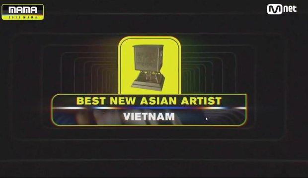 AMEE sánh vai cùng các nghệ sĩ quốc tế, đạt giải Tân binh Châu Á xuất sắc nhất tại MAMA 2020 đầy bất ngờ - Ảnh 1.