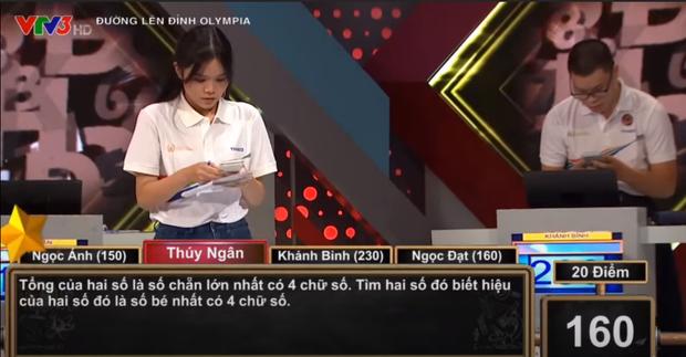 Câu hỏi Olympia tính dễ ợt: Tổng là số chẵn lớn nhất có 4 chữ số. Hiệu là số bé nhất có 4 chữ số. Tìm 2 số? - Ảnh 2.