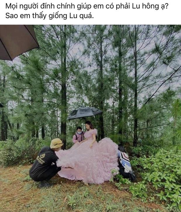 Bị hỏi bao giờ lấy chồng, Nhật Lê đáp trả luôn bằng tấm hình mặc váy cưới! - Ảnh 2.