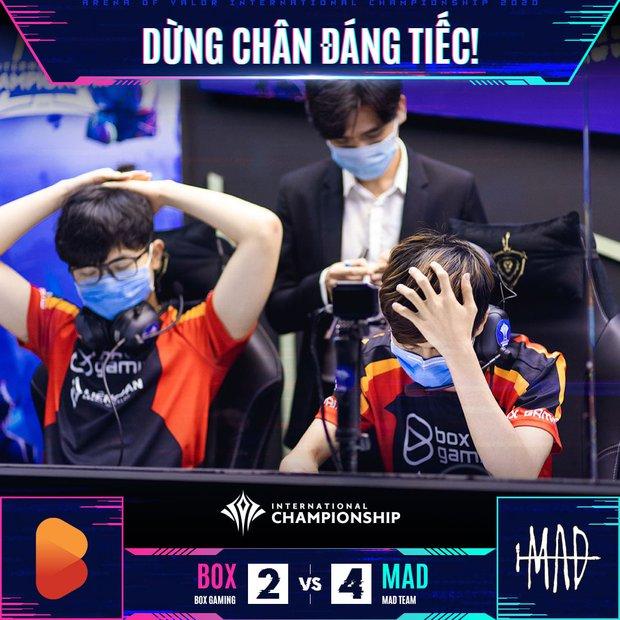 AIC 2020: BOX Gaming thất thủ đáng tiếc trước MAD Team, Liên Quân Việt Nam đặt trọn niềm tin vào Saigon Phantom và Team Flash - Ảnh 2.
