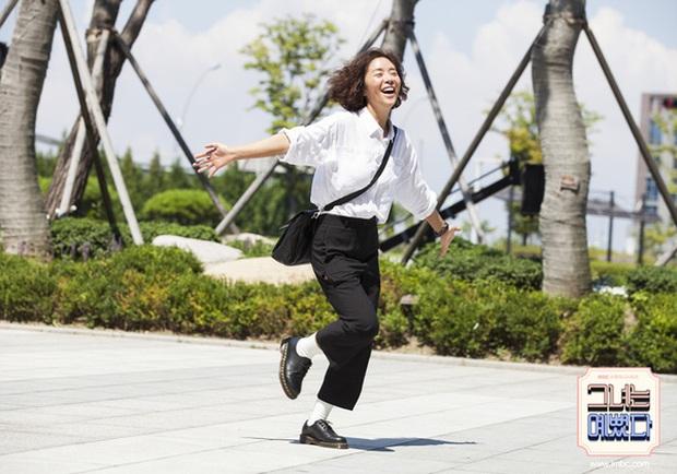 6 lần sao Hàn hóa xấu trên màn ảnh: Moon Ga Young mặt đầy mụn vẫn chưa sốc bằng màn phát phì của IU - Ảnh 17.