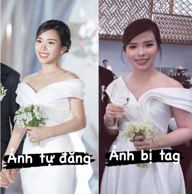 So ảnh tự đăng và bị tag của dàn WAGs Việt trong ngày cưới, cô dâu nào cân đẹp mọi khoảnh khắc? - Ảnh 1.