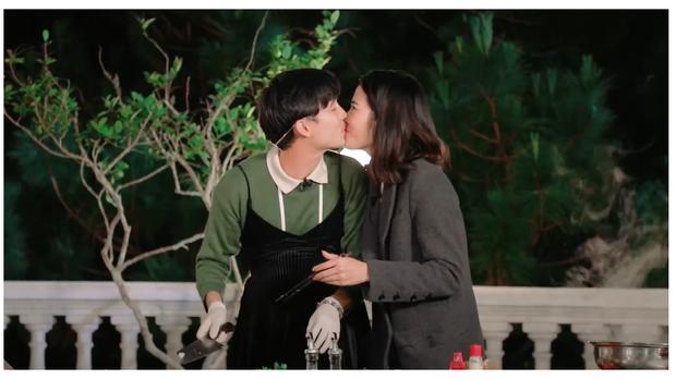 Sau 3 lần chạm môi bạn nam đồng hành, Nam Em tiếp tục ngất xỉu ở nhà hoang trong show hẹn hò - Ảnh 3.