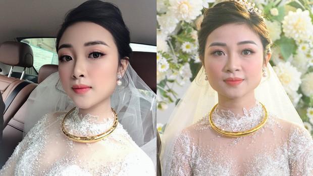 So ảnh tự đăng và bị tag của dàn WAGs Việt trong ngày cưới, cô dâu nào cân đẹp mọi khoảnh khắc? - Ảnh 13.