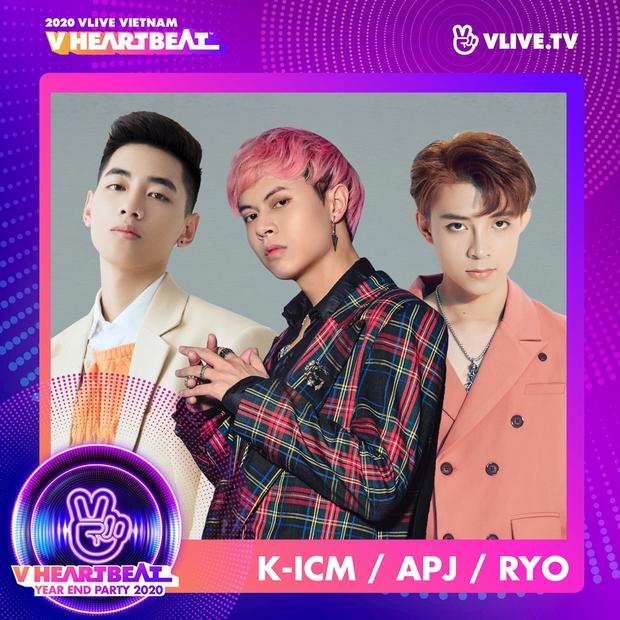 Noo Phước Thịnh, Ngô Kiến Huy, K-ICM cùng dàn sao Vpop xác nhận cập bến V Heartbeat Year End Party - Ảnh 4.