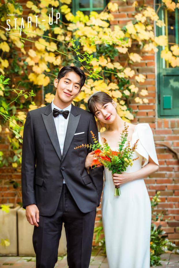 """""""Ảnh cưới"""" của Nam Joo Hyuk - Suzy khiến MXH dậy sóng: Nhan sắc """"bùng nổ"""" cả đôi, ngọt đến mức netizen nghi phim giả tình thật - Ảnh 2."""