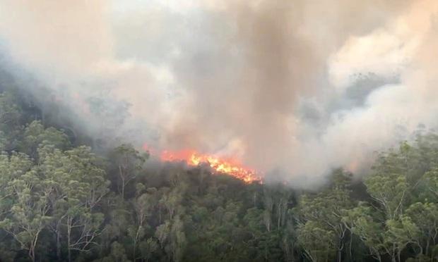Australia: Cháy rừng bùng phát dữ dội, cư dân trên đảo di sản Fraser sơ tán khẩn cấp - Ảnh 2.