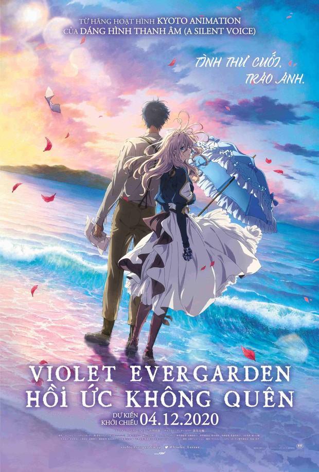 Violet Evergarden: Khóc lụt rạp với chuyện tình thời hậu chiến, thêm hình ảnh âm thanh phát mê lên được! - Ảnh 1.