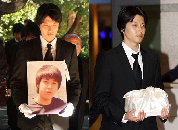 Lee Dong Gun: Tình đẹp vừa toang thì em trai bị sát hại, tài tử ngôn tình màn ảnh lại là kẻ phụ tình Jiyeon và vợ minh tinh - Ảnh 9.
