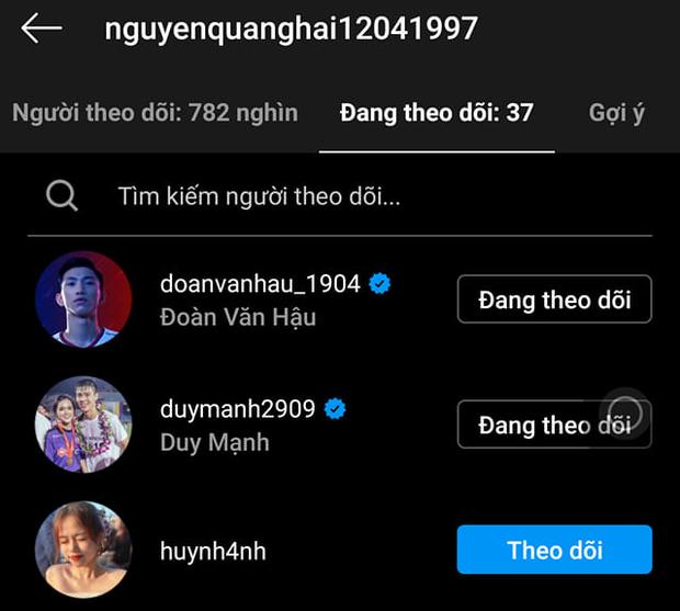 Tiếp tục lộ nghi vấn Quang Hải - Huỳnh Anh tái hợp, lần này là đàng trai thả tim trên cả Instagram của fan couple - Ảnh 2.