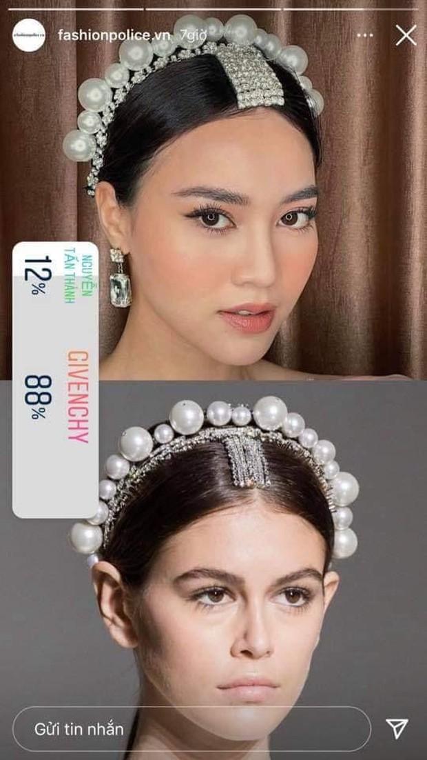 Vừa vướng drama thái độ với Thuỷ Tiên, Ninh Dương Lan Ngọc lại dính nghi án dùng cài tóc Givenchy fake - Ảnh 5.