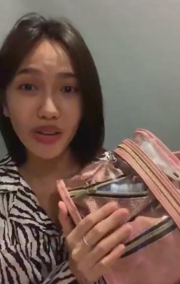 Diệu Nhi livestream giải thích công dụng từng món đồ mang vào Sao Nhập Ngũ, trả lời các bình luận ném đá - Ảnh 4.