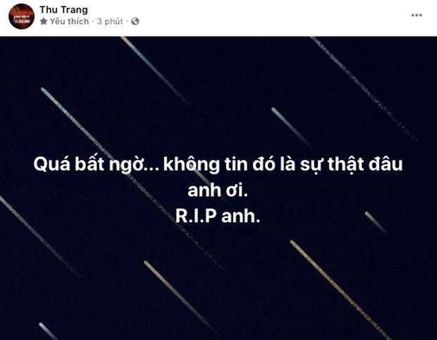 MXH Việt bàng hoàng trước sự ra đi của danh hài Chí Tài: Cúi đầu tiễn biệt chú, nụ cười tuổi thơ của con! - Ảnh 13.