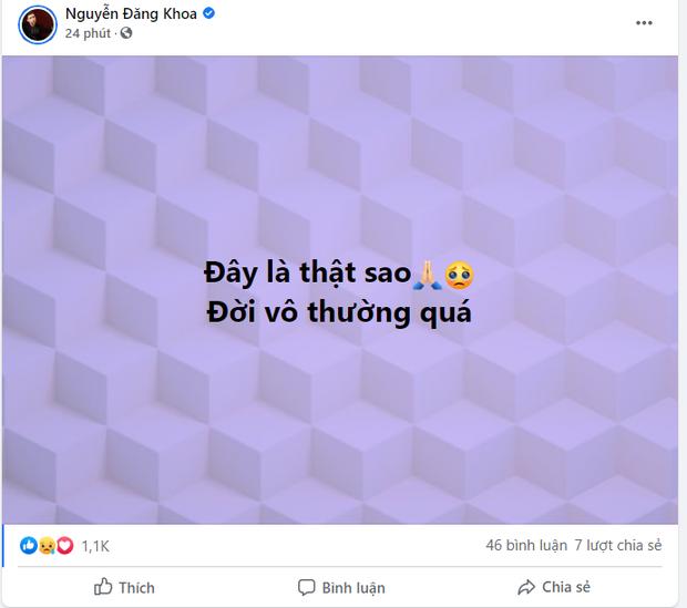 MXH Việt bàng hoàng trước sự ra đi của danh hài Chí Tài: Cúi đầu tiễn biệt chú, nụ cười tuổi thơ của con! - Ảnh 12.