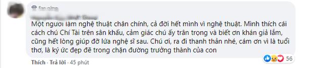 MXH Việt bàng hoàng trước sự ra đi của danh hài Chí Tài: Cúi đầu tiễn biệt chú, nụ cười tuổi thơ của con! - Ảnh 8.