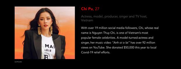 Forbes công bố Trấn Thành, Đông Nhi, Chi Pu lọt top 100 ngôi sao có sức ảnh hưởng nhất châu Á, sánh vai bên cả BTS - BLACKPINK - Ảnh 4.