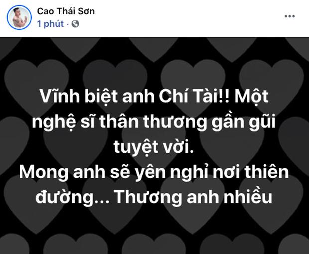 Cả showbiz Việt bàng hoàng khi hay tin NS Chí Tài qua đời: Đông Nhi lặng người, Ngô Kiến Huy, Noo Phước Thịnh đau buồn gửi lời tiễn biệt - Ảnh 11.