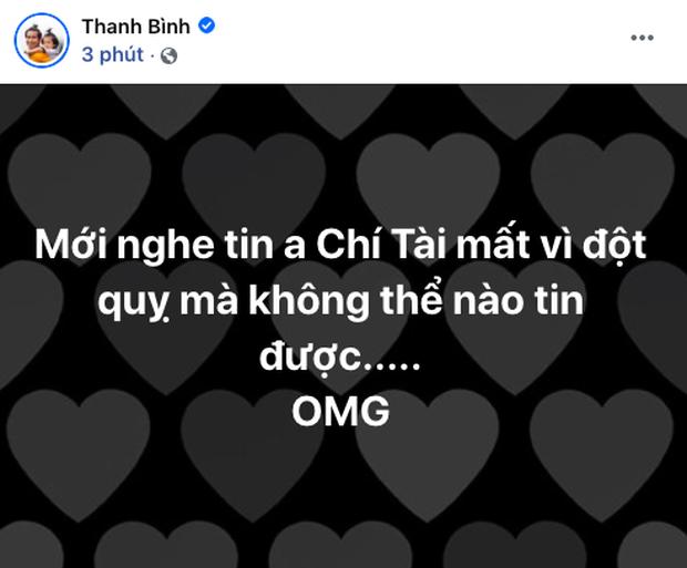 Cả showbiz Việt bàng hoàng khi hay tin NS Chí Tài qua đời: Đông Nhi lặng người, Ngô Kiến Huy, Noo Phước Thịnh đau buồn gửi lời tiễn biệt - Ảnh 14.