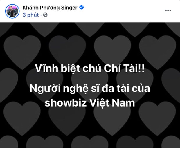 Cả showbiz Việt bàng hoàng khi hay tin NS Chí Tài qua đời: Đông Nhi lặng người, Ngô Kiến Huy, Noo Phước Thịnh đau buồn gửi lời tiễn biệt - Ảnh 13.