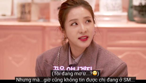 Dara - Cựu thành viên 2NE1 lần đầu đến SM, bất ngờ chia sẻ về cuộc đụng độ cùng SNSD trong quá khứ - Ảnh 4.