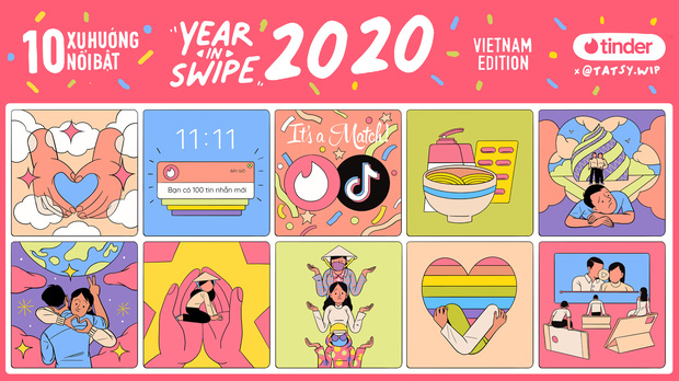 Xu hướng nổi bật của giới trẻ Việt trên Tinder: Không chỉ quẹt phải và thả thính, gạ tình thô thiển đâu! - Ảnh 1.