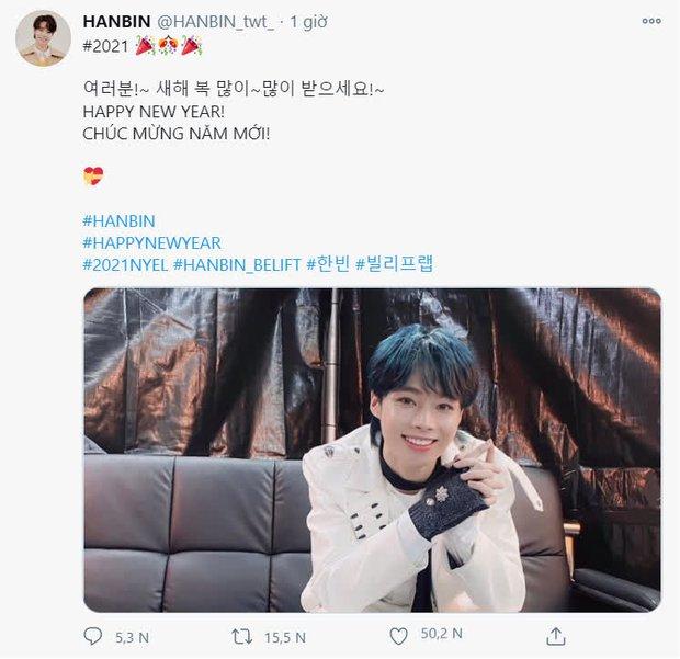 Hanbin có sân khấu ra mắt tại concert nhà Big Hit: Gửi lời chào đến fan Việt, được dân tình khen tiến bộ vượt bậc - Ảnh 5.