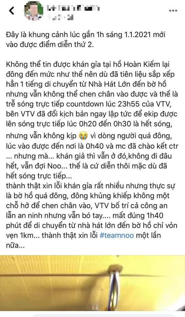Noo Phước Thịnh trễ sóng show trực tiếp vì bị kẹt đường tại Hà Nội, MCK và Tlinh đụng độ ICD tại show countdown ở TP.HCM - Ảnh 9.