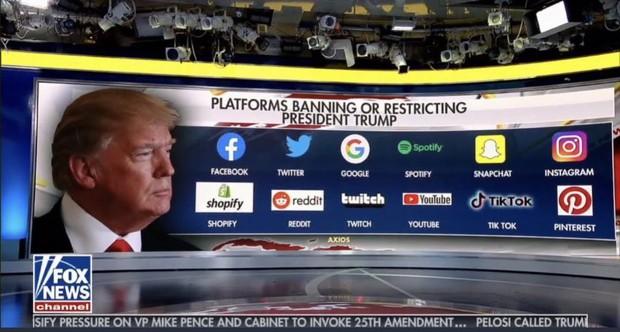 Không chỉ Facebook, Donald Trump vừa bị khoá tài khoản vĩnh viễn trên hàng loạt mạng xã hội lớn - Ảnh 2.