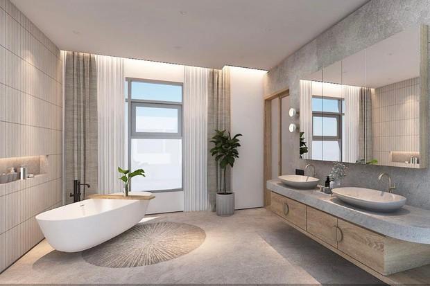 Vũ Dino kể chuyện ngẫu hứng mua nhà penthouse 8 tỷ rộng 246m2, chia sẻ áp lực khi làm nội thất - Ảnh 4.