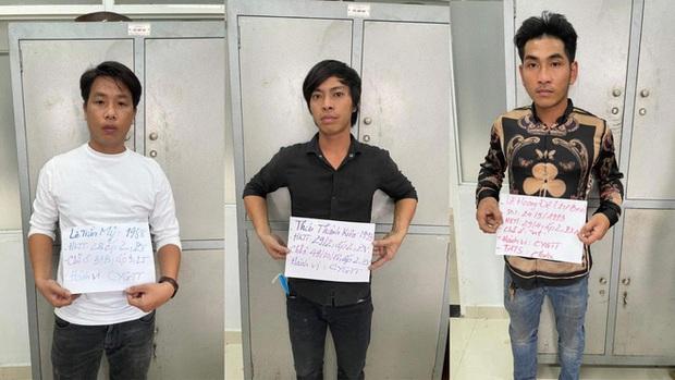 Công an làm việc với nhóm giang hồ truy sát 2 người đàn ông ở vùng ven Sài Gòn - Ảnh 1.
