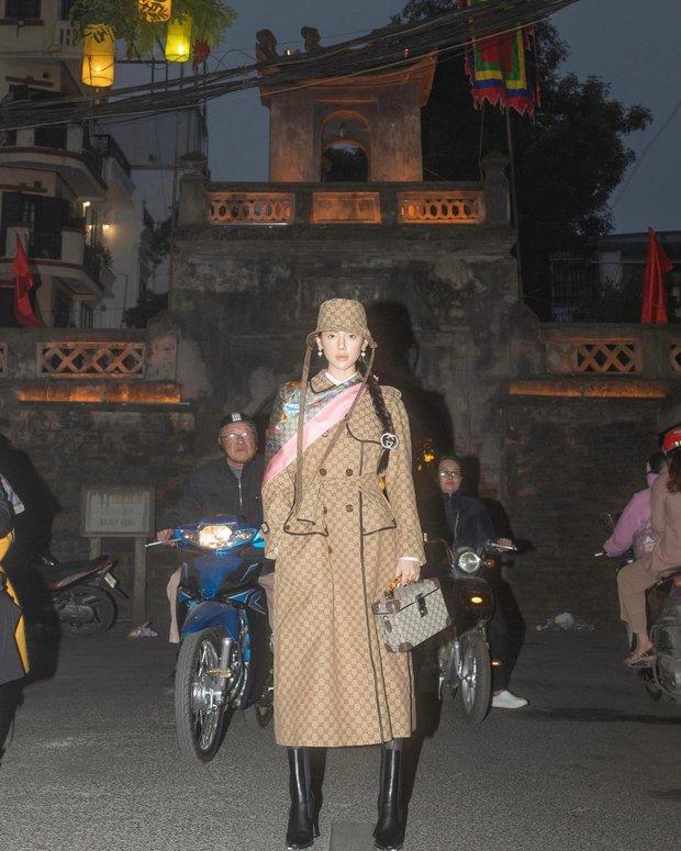 Khánh Linh và trọn bộ hình Gucci x Hà Nội đỉnh của đỉnh: Mình cũng đã ấp ủ ý tưởng chụp tại các địa danh nổi tiếng từ lâu rồi - Ảnh 1.