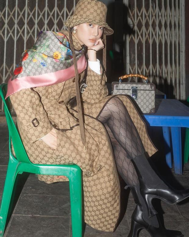 Khánh Linh và trọn bộ hình Gucci x Hà Nội đỉnh của đỉnh: Mình cũng đã ấp ủ ý tưởng chụp tại các địa danh nổi tiếng từ lâu rồi - Ảnh 9.