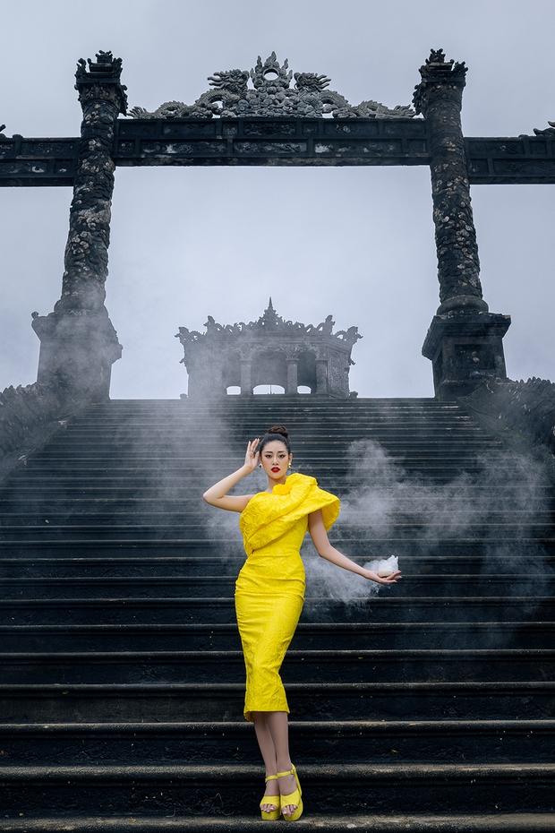 Tự tin đi Huế nhiều nhất trong dàn Hoa hậu, Á hậu nhưng Ngọc Diễm vẫn bị chương trình troll khó tin - Ảnh 9.