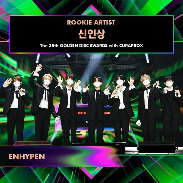 BTS giành Daesang quá dễ đoán trong ngày thứ 2 của Grammy Hàn Quốc 2021, có tới 3 nghệ sĩ nhận giải Tân binh nhưng không ai là nữ - Ảnh 2.