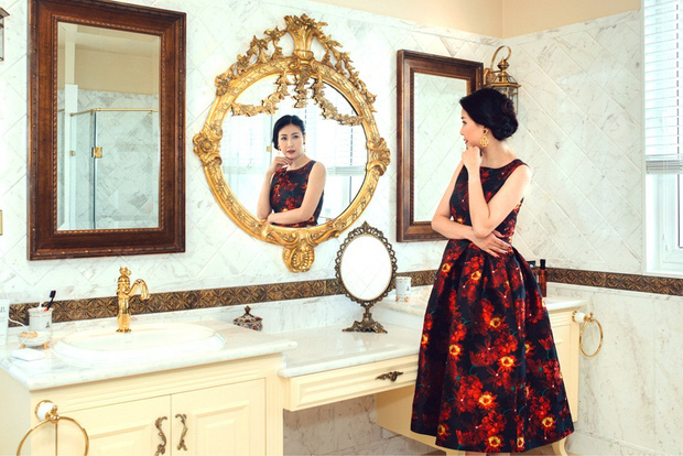 Choáng ngợp trước căn penthouse của Hoa hậu Hà Kiều Anh: Giàu có nhất nhì showbiz, view 4 mặt đều là biển và núi - Ảnh 6.