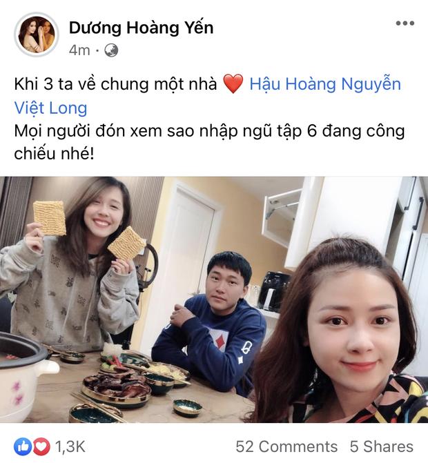 Sau bao ngày fan trông ngóng, Mũi trưởng Long đã có ảnh cùng Hậu Hoàng và Dương Hoàng Yến tại Hà Nội rồi đây! - Ảnh 1.