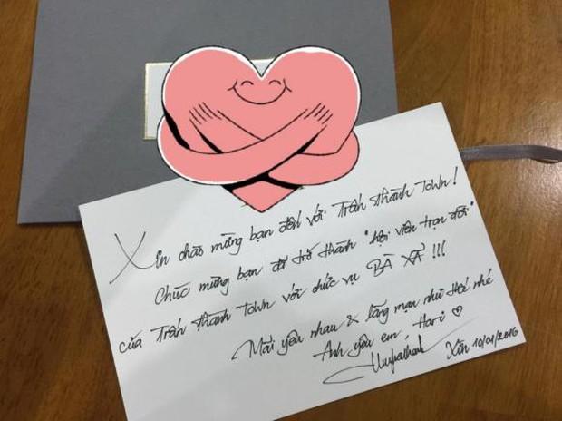 Hari Won hé lộ thư tay ngọt hơn đường Trấn Thành gửi 5 năm trước, hồi mới yêu chưa gì đã xưng hô lộ liễu thế này rồi - Ảnh 2.