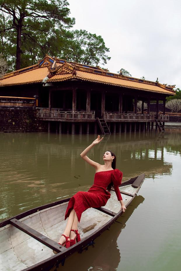 Tự tin đi Huế nhiều nhất trong dàn Hoa hậu, Á hậu nhưng Ngọc Diễm vẫn bị chương trình troll khó tin - Ảnh 14.