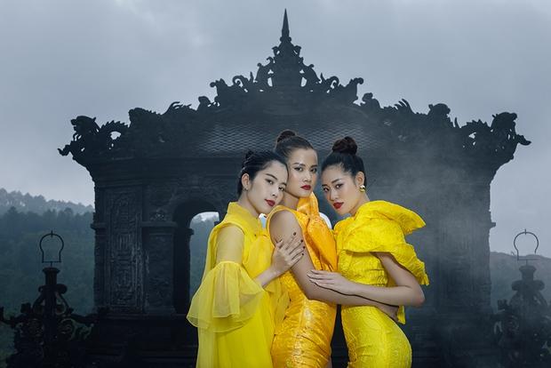 Netizen tiếp tục đòi công bằng cho Hương Ly - Nam Em - Khánh Vân khi pose dáng đỉnh nhưng bị xếp chót - Ảnh 3.