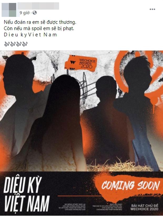 Dân mạng đoán 4 nghệ sĩ collab trong bài hát chủ đề album Diệu Kỳ Việt Nam: Bích Phương, Hoàng Thuỳ Linh, GDucky đều được gọi tên - Ảnh 2.