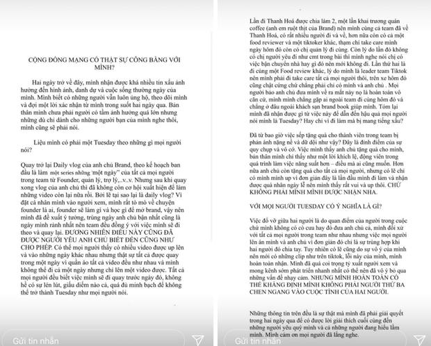 Khi gái xinh TikTok đụng thị phi: Người bị tố là Tuesday công khai, người nhận mưa gạch đá từ fandom BLACKPINK - Ảnh 4.