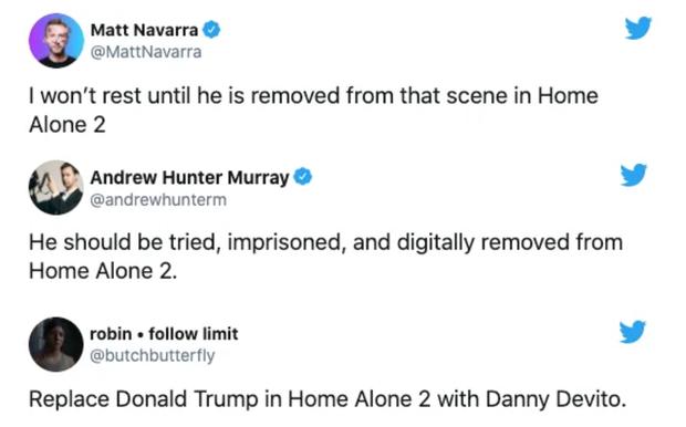 Bay màu khỏi các mạng xã hội thôi chưa đủ, cư dân mạng đòi xóa hình ảnh ông Trump khỏi nhiều cảnh phim nổi tiếng - Ảnh 3.