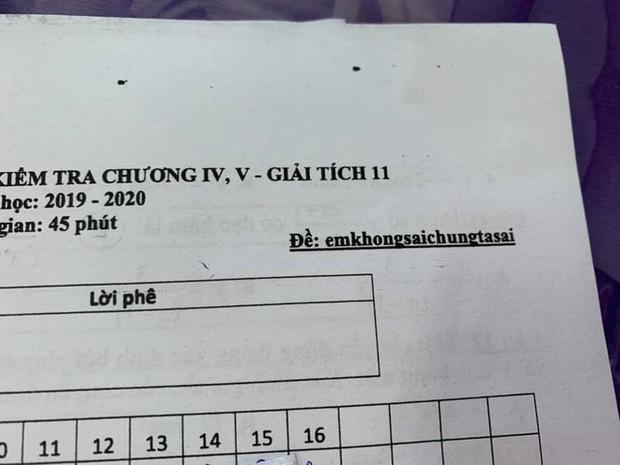 Thầy cô thời 4.0 phải đánh mã đề dị như thế này, học trò xem xong chỉ biết khóc thét - Ảnh 3.