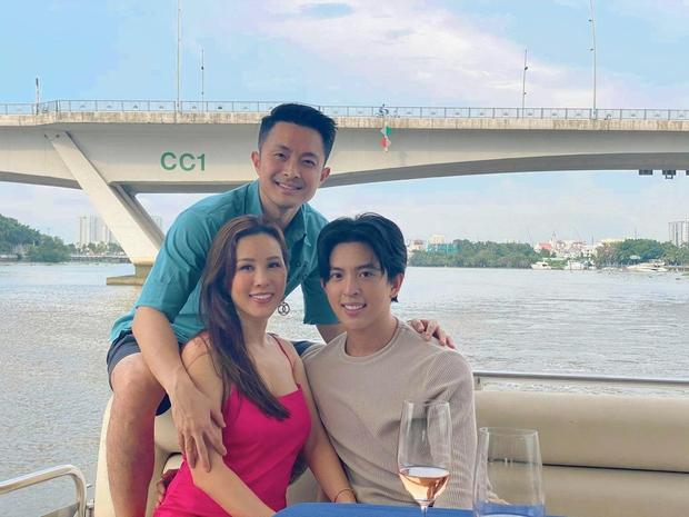 Hoa hậu Thu Hoài đanh thép trên mạng nhưng cực tâm lý khi làm mẹ, cho các con du học từ sớm, chấp nhận giới tính thật của con trai cả - Ảnh 3.
