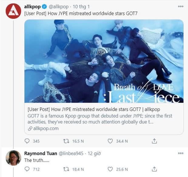 JYP chính thức xác nhận cả 7 thành viên GOT7 rời công ty: Cổ phiếu tuột dốc không phanh, bố của Mark ngầm tố công ty ngược đãi? - Ảnh 3.