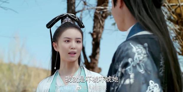 4 màn ghép mặt giả trân ở phim Trung, chỉ vì diễn viên chơi dại mà biến phim thành trò kinh dị! - Ảnh 3.