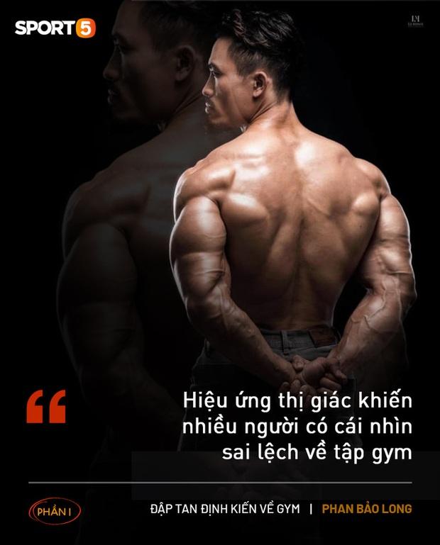 Phá bỏ định kiến về gym (phần 1): Tập thể hình tự nhiên không thể làm teo cậu nhỏ như tin đồn - Ảnh 2.