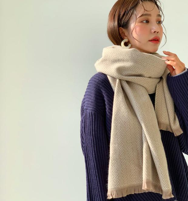 5 kiểu quàng khăn chuẩn style Hàn Quốc: Không chỉ ấm áp, sang chảnh mà còn hack chiều cao tài tình - Ảnh 13.